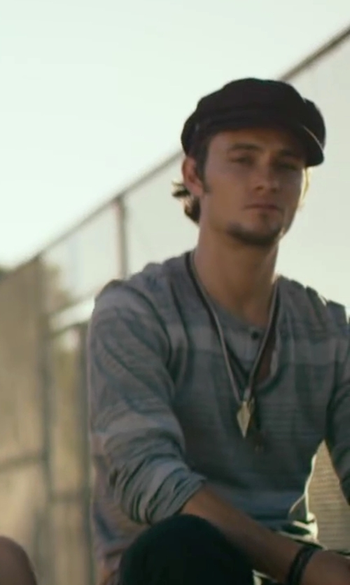 Shiloh Fernandez with Kangol Wool Spitfire Cap in We Are Your Friends