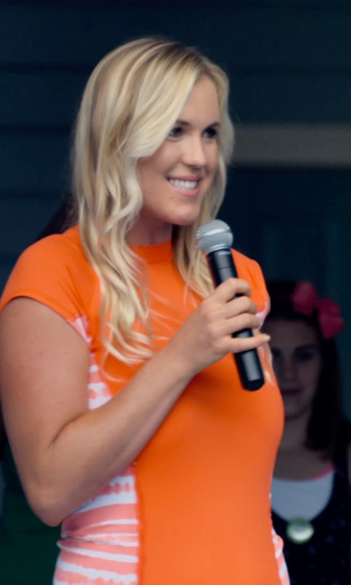 Bethany Hamilton with Shure SM58-CN Cardioid Dynamic Vocal Microphone with Cable in Dolphin Tale 2