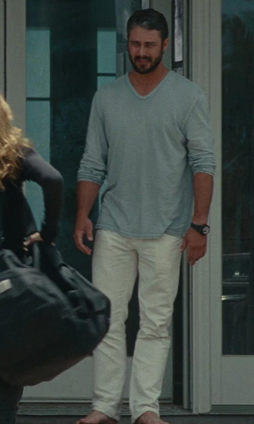 Taylor Kinney with Galliano Casual Pants in The Other Woman