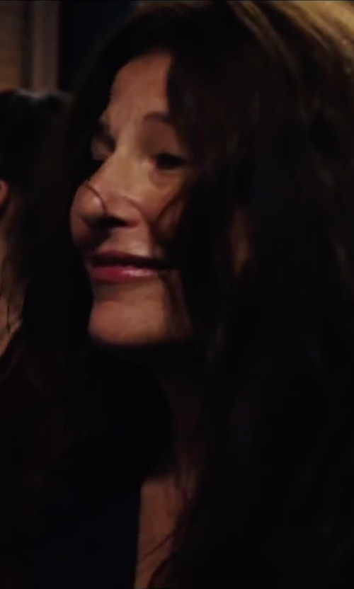 Catherine Keener with Kamalikulture Women's Shirt Dress in Begin Again