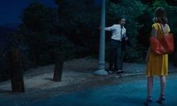 Ryan Gosling with Griffith Park Los Angeles, California in La La Land