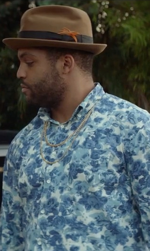 O'Shea Jackson Jr. with Diesel S-Nico Shirt in Ingrid Goes West