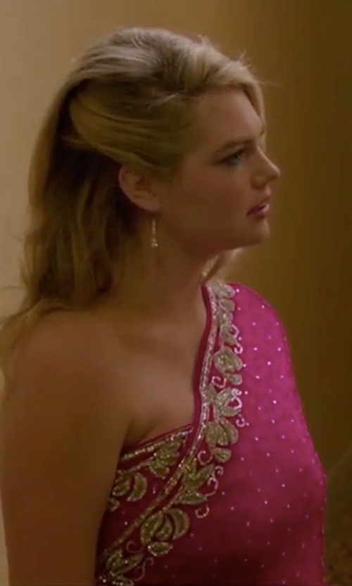 Kate Upton with Devlin Thea Dress in The Layover