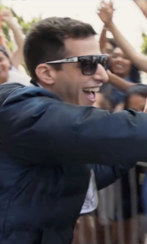 Andy Samberg with Adidas Originals Padded Jacket in Popstar: Never Stop Never Stopping