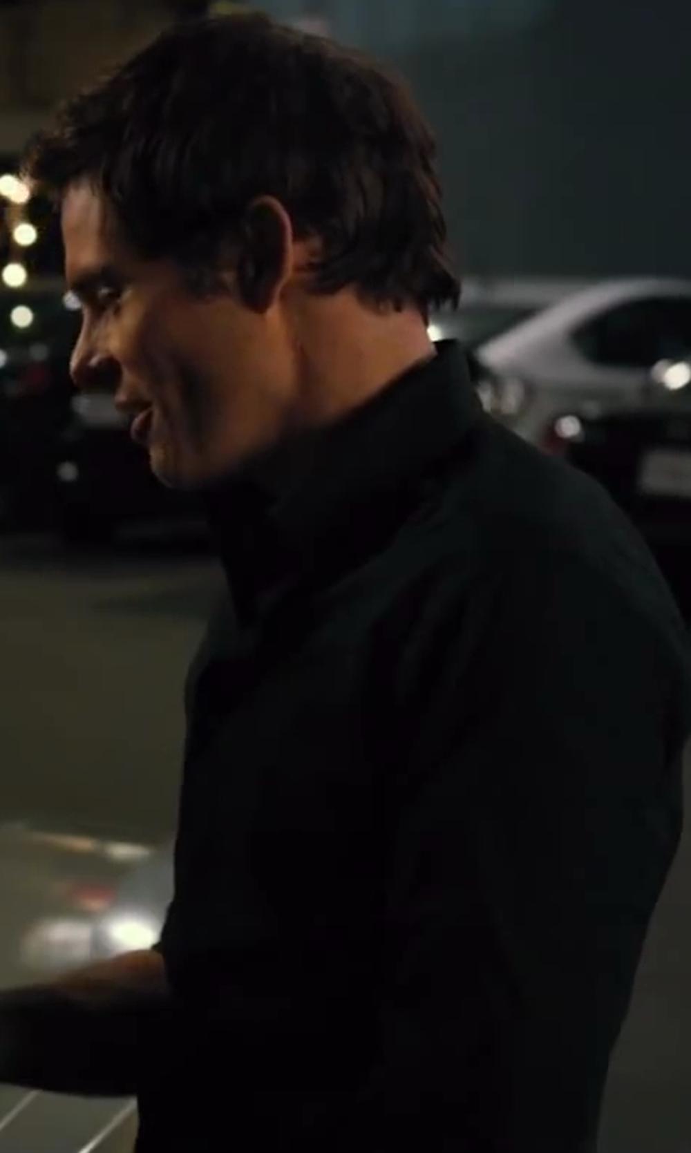 James Marsden with HUGO Shirt, Long Sleeve Core Elisha Shirt in Walk of Shame