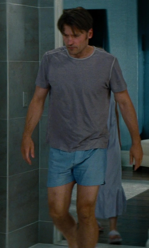 Nikolaj Coster-Waldau with Barneys New York Basic Boxer Shorts in The Other Woman