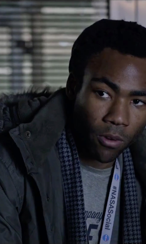 Donald Glover with Carhartt Anchorage Parka Jacket in The Martian