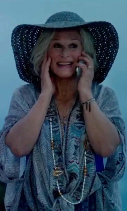 Glenn Close with Brixton Joanna Hat in Bastards