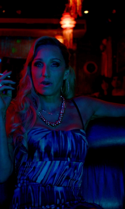 Kristin Scott Thomas with John Hardy Batu Classic Chain Silver Large Braided Ring in Only God Forgives