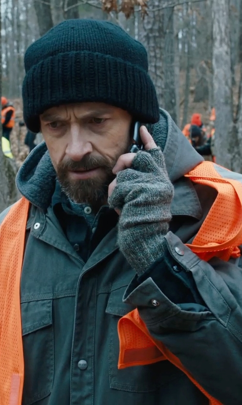 Hugh Jackman with Carhartt Men's Big High-Visibility Vest in Prisoners