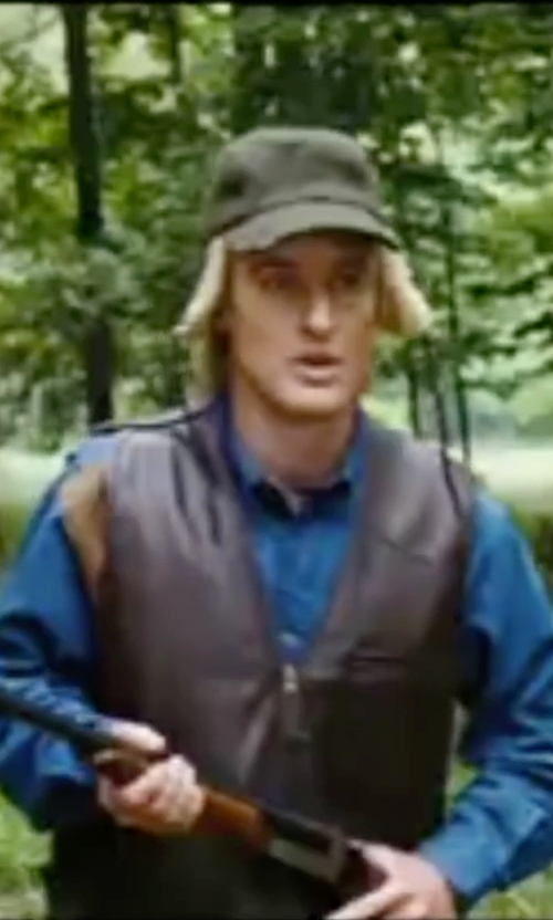 Owen Wilson with Calibrate Trim Fit Dress Shirt in Wedding Crashers