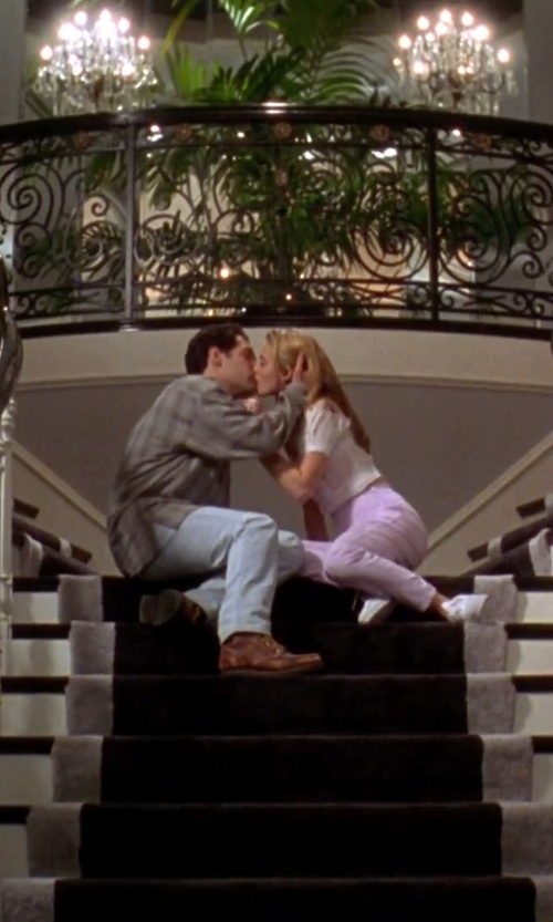 Paul Rudd with Frye Jonathan Mid Lace in Clueless