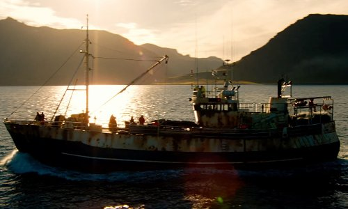 Unknown Actor with 964 Stafnes KE-130 Fishing Boat in The Secret Life of Walter Mitty