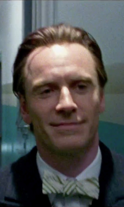Michael Fassbender with Charvet Double-Cuff Cotton Shirt in Steve Jobs