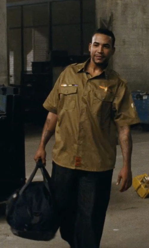 Don Omar with The North Face Base Camp Duffel Bag in Fast Five
