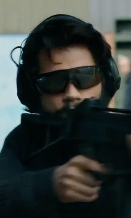 Dylan O'Brien with Jackson Safety V30 Nemesis Safety Glasses in American Assassin