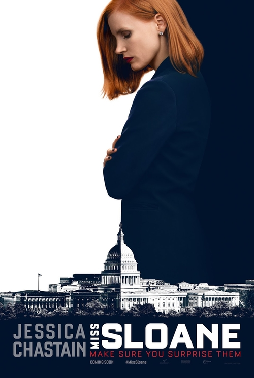 Miss Sloane Fashion and Locations