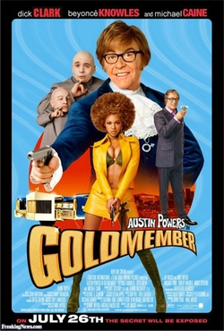Austin Powers in Goldmember poster