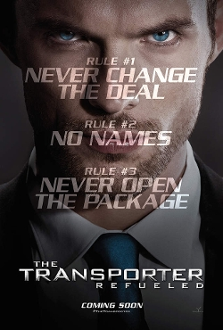 The Transporter: Refueled poster