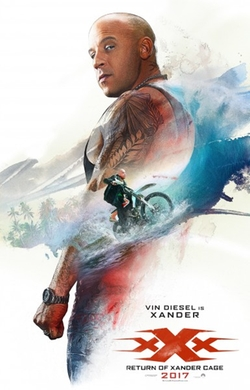 xXx: Return of Xander Cage poster