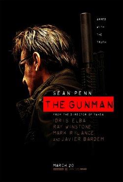 The Gunman poster