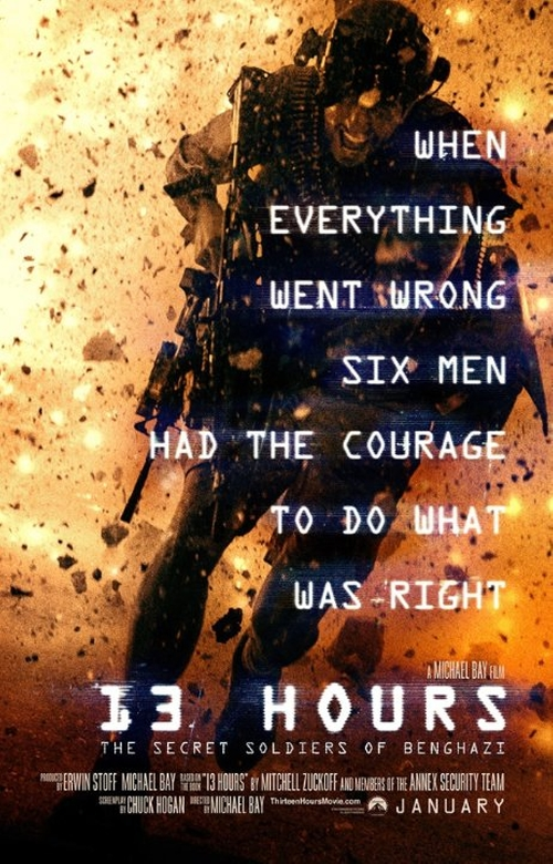 13 Hours: The Secret Soldiers of Benghazi Fashion and Locations