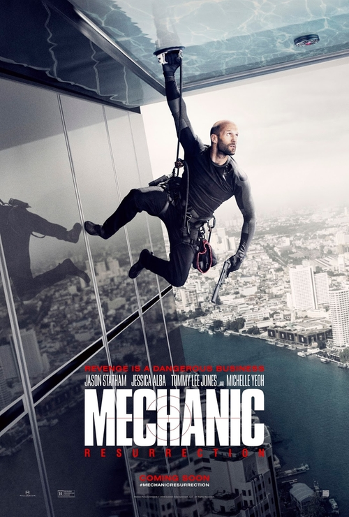 Mechanic: Resurrection Fashion and Locations