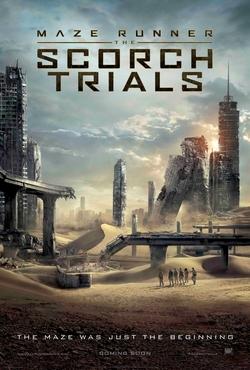 Maze Runner: The Scorch Trials poster