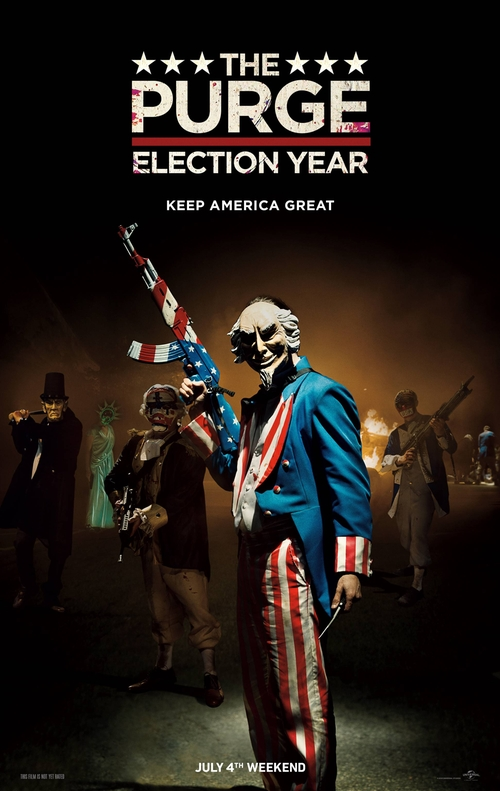 The Purge: Election Year Fashion and Locations