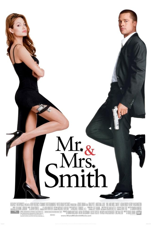 Mr. & Mrs. Smith Fashion and Locations