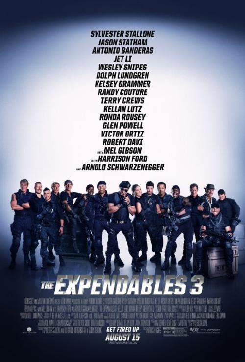 The Expendables 3 Fashion and Locations
