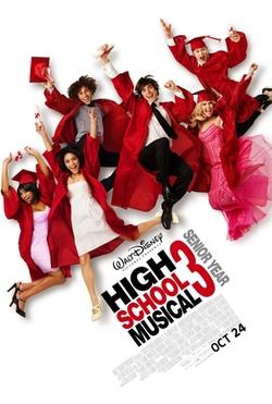 High School Musical 3: Senior Year poster