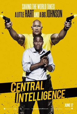 Central Intelligence poster