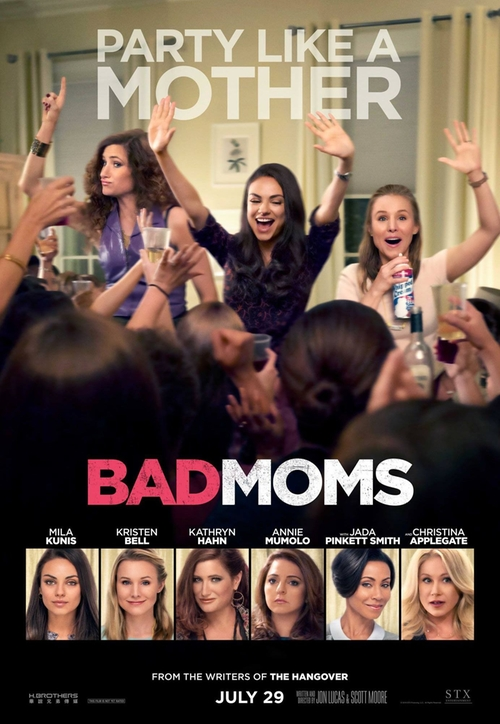 Bad Moms Fashion and Locations