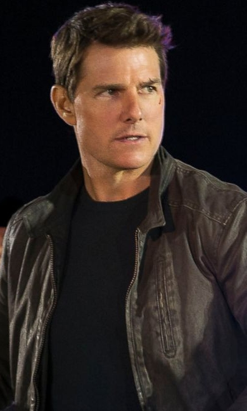 Tom Cruise with Rodd & Gunn Casual Harrington Jacket in Jack Reacher: Never Go Back