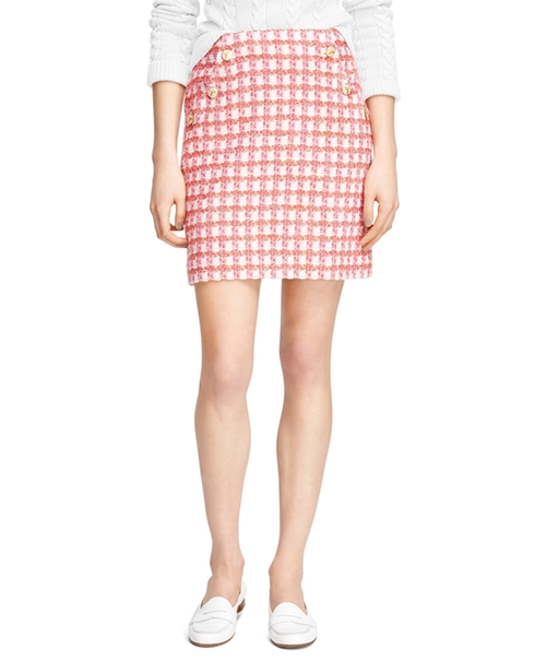 Cotton Slim Skirt by Brooks Brothers in Scream Queens - Season 1 Episode 8
