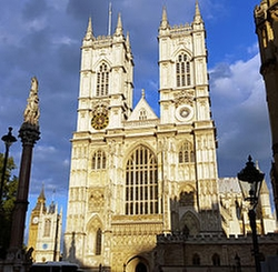 London, United Kingdom by Westminster Abbey in London Has Fallen