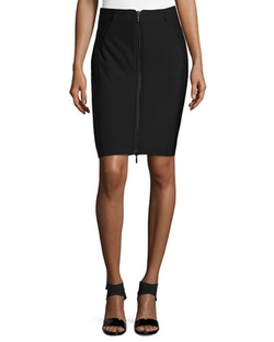 Brooke Front-Zip Skirt by Anatomie in The Flash
