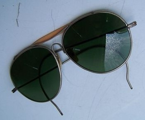 Vintage Aviator Sunglasses by Bausch & Lomb  in Kong: Skull Island