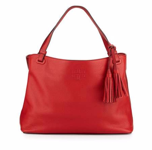 Thea Center-Zip Tote Bag by Tory Burch in Mistresses