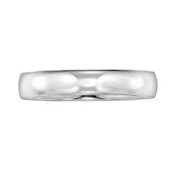 Platinum Wedding Band Ring by Cherish Always in Love the Coopers