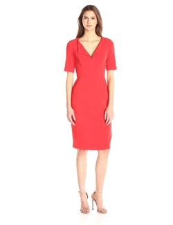 Women's Pescara Sheath Dress by Black Halo in Grace and Frankie