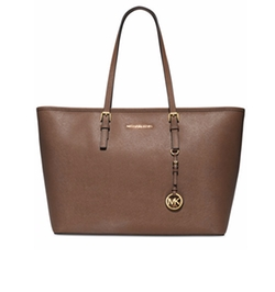 Jet Set Travel Medium Top Zip Multifunction Tote by Michael Kors in Suits