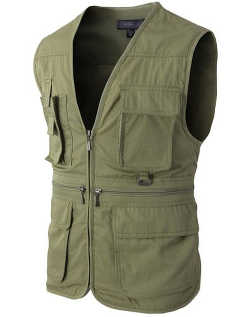 Casual Work Utility Hunting Travels Sports Vest by H2H in The A-Team