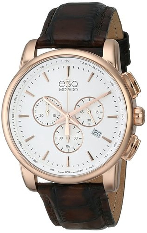 Capital Analog Display Watch by ESQ Movado in Ballers