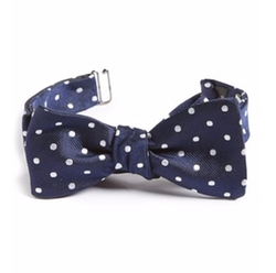 Dot Silk Bow Tie by Gitman in The Good Place
