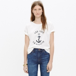 Les ÎLes De La Société Tee by Madewell in Scream Queens