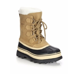 Caribou Nubuck Leather & Faux Fur Lace-Up Boots by Sorel in Keeping Up With The Kardashians