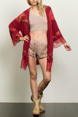Lace Kimono by POL in The Vampire Diaries