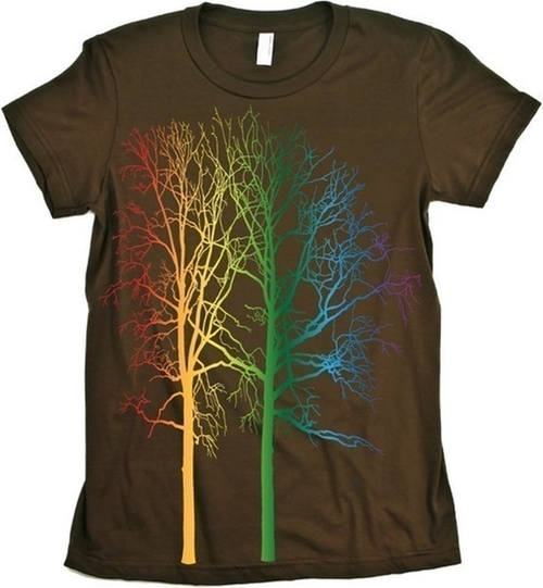 Rainbow Tree T-Shirt by Babbletees in The Big Bang Theory - Season 9 Episode 4